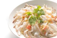 Shrimp in fish sauce Stock Image