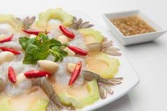 Shrimp in fish sauce Royalty Free Stock Photo