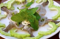 Shrimp in fish sauce,Thai food Stock Photo