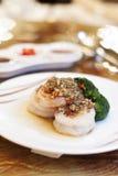 Shrimp. Food seafood shrimp dinner prawn Stock Photos