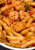 Shrimp fra diavolo Stock Photo