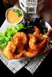 Shrimp fried Royalty Free Stock Photo