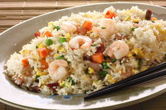 Shrimp fried rice stock photos