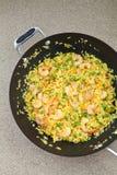 Shrimp Fried Rice Stock Image