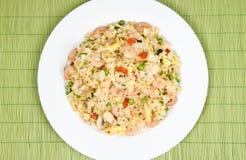 Shrimp Fried Rice Royalty Free Stock Photo