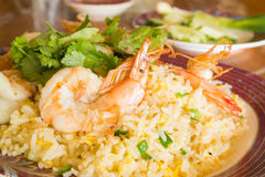 Shrimp Fried Rice Stock Images