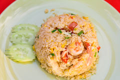 SHRIMP FRIED RICE Stock Image