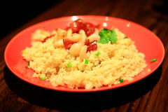 Shrimp fried rice Royalty Free Stock Photos