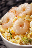 Shrimp Fried Rice Taiwanese Style Stock Photos