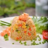 Shrimp fried rice. Thai food Stock Photo