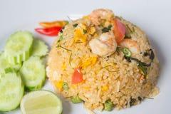 Shrimp fried rice. Thai Food Stock Image