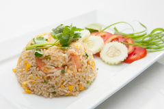 Shrimp fried rices Royalty Free Stock Photography