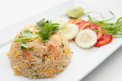 Shrimp fried rices Royalty Free Stock Image