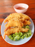 Shrimp Fritter Royalty Free Stock Photography