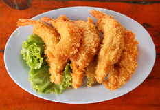 Shrimp Fritter Royalty Free Stock Images