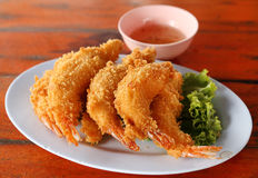 Shrimp Fritter Stock Images