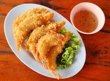 Shrimp Fritter Stock Photography