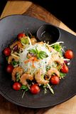 Shrimp and glass noodle salad Royalty Free Stock Photo