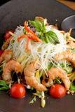 Shrimp and glass noodle salad Stock Image