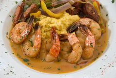Shrimp and grits Royalty Free Stock Photography