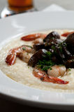 Shrimp and grits Royalty Free Stock Photo