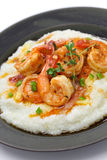 Shrimp and grits Stock Image