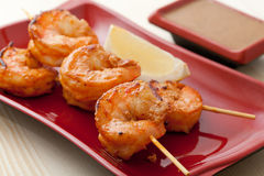 Shrimp Kebab Stock Image