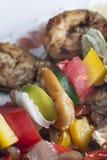 Shrimp Kebab Skewers Royalty Free Stock Image