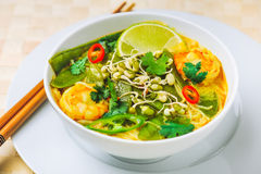 Shrimp Laksa Stock Images