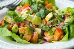 Shrimp Lettuce Cups Royalty Free Stock Image