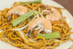 Shrimp Lo Mein Royalty Free Stock Images