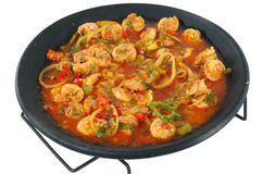 Shrimp Meal Stock Image
