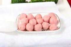 Shrimp meatballs Royalty Free Stock Photo