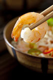 Shrimp Noodle Soup Royalty Free Stock Images