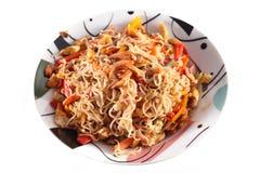 Shrimp Noodles Stock Image