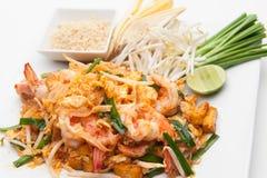 Shrimp Pad Thai Stock Image