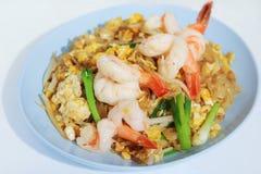 Shrimp Pad Thai Royalty Free Stock Photo
