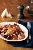 Shrimp parmigiano Royalty Free Stock Image