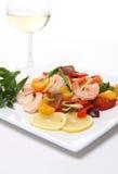 Shrimp Pasta Royalty Free Stock Image