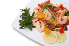 Shrimp Pasta Stock Images