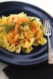 Shrimp pasta Stock Photos