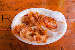 Shrimp Plate Stock Photos