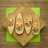 Shrimp plate Royalty Free Stock Photos