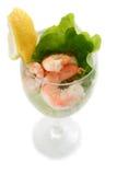 Shrimp prawn cocktail Royalty Free Stock Images