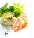 Shrimp or Prawn Cocktail Stock Images