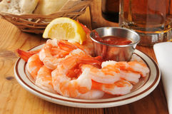 Shrimp prawns Stock Photo