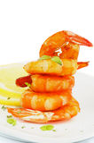 Shrimp Pyramid Stock Images