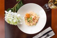 Shrimp risotto Royalty Free Stock Image