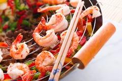 Shrimp roast Indonesian Stock Image