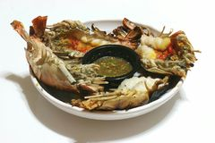 Shrimp roast Royalty Free Stock Photography